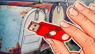 Would you plug in a USB that you got in the mail?