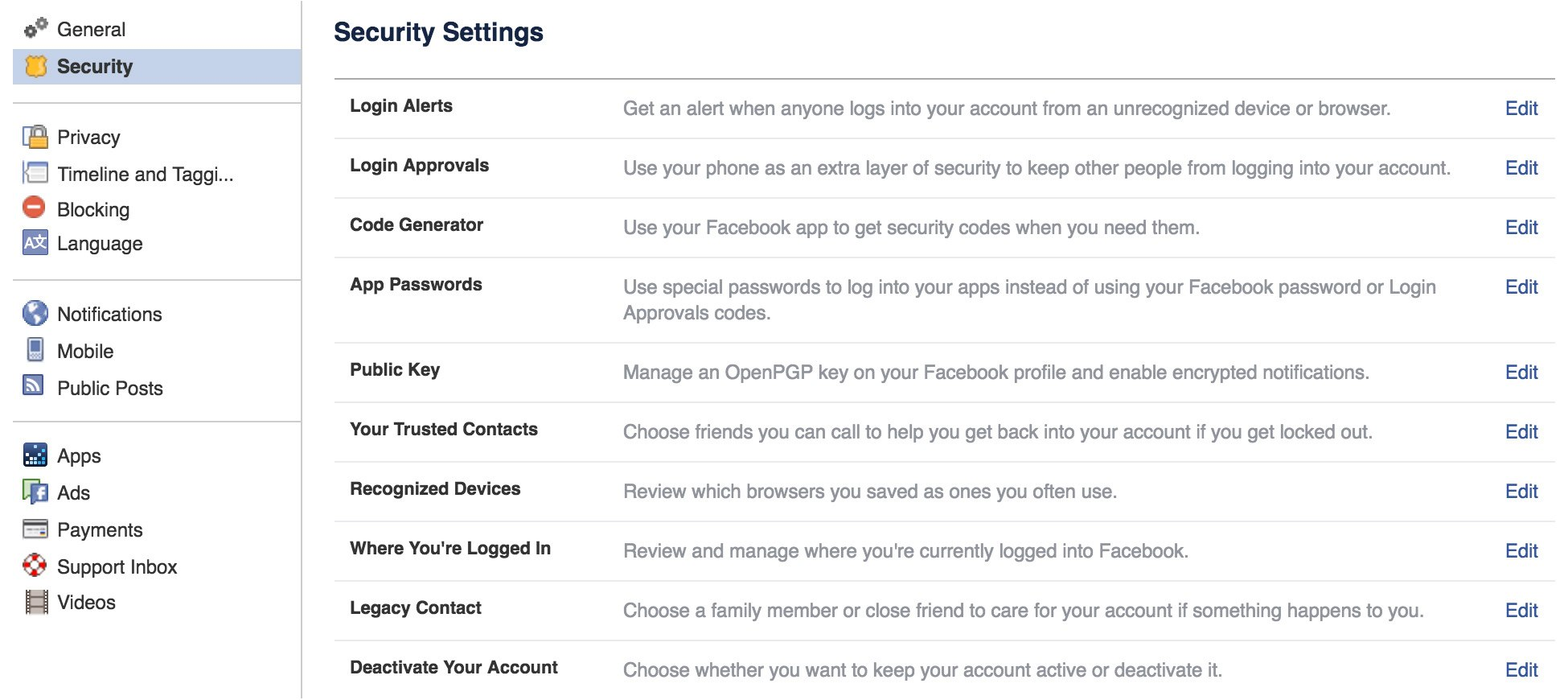 Everything you need to know about Facebook security settings