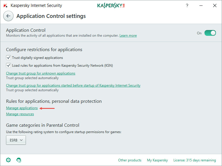 How to set up Kaspersky solutions to work with Steam
