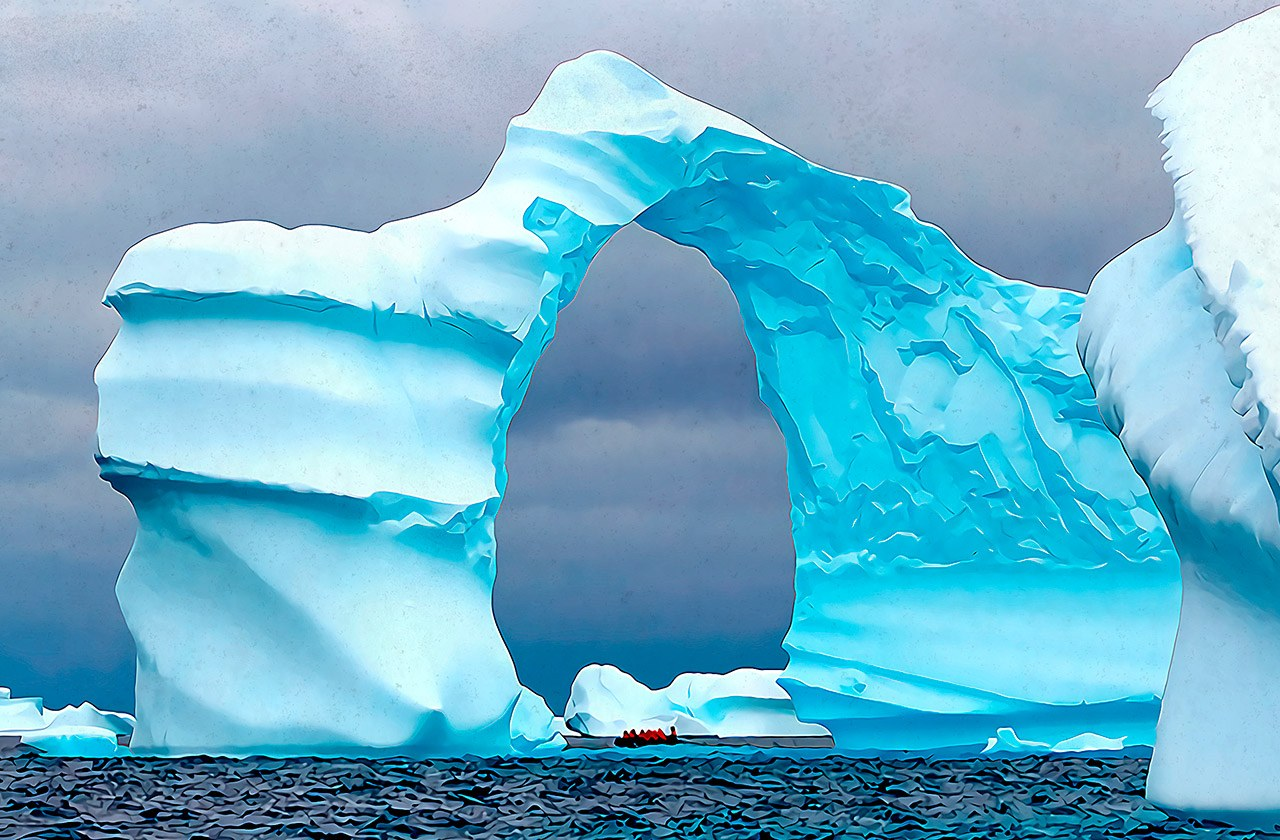The Antarctic Biennale: Cybersecurity meets science and art