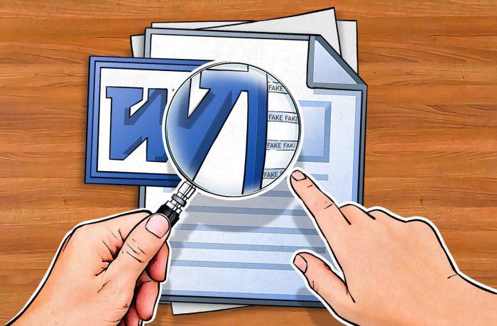 Metadata in office document files