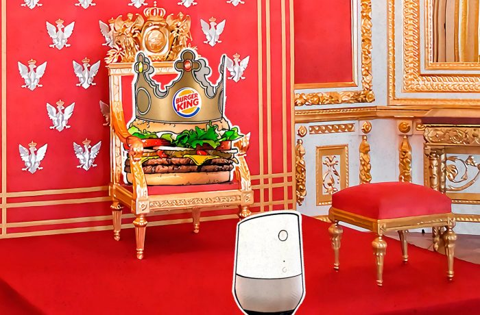 Burger King hacks Google Home
