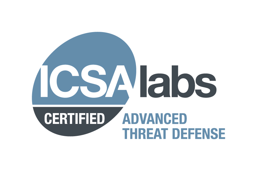 ICSA Labs Advanced Threat Defense Certified