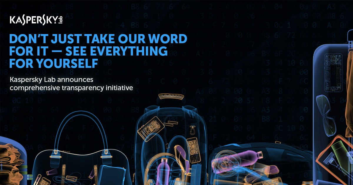 Kaspersky Lab announces comprehensive transparency initiative