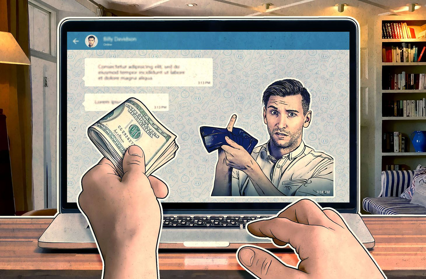 A new scam in Telegram and WhatsApp | Kaspersky official blog