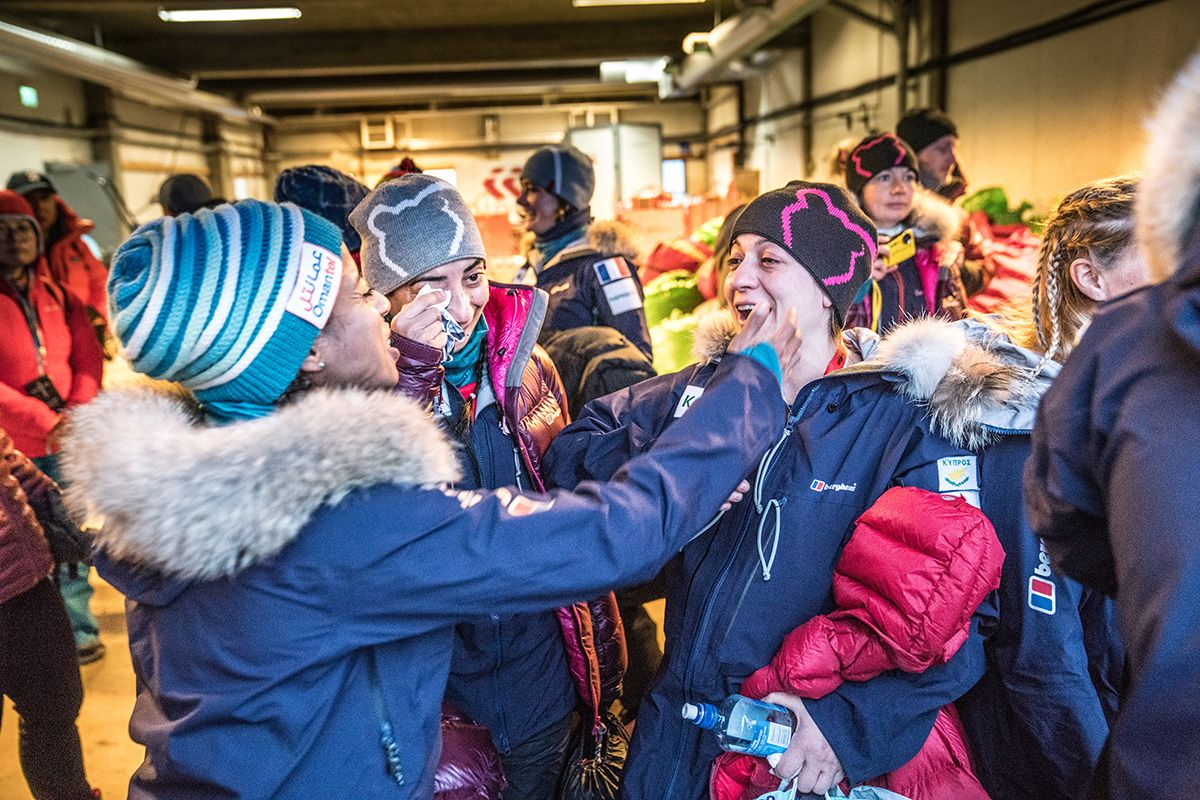 13.-Happy-tears-as-the-expedition-members-prepare-to-leave-Terra-Firma-for-a-vast-floating-sea-of-polar-ice-for-10-days-Photo-by-Renan-Ozturk