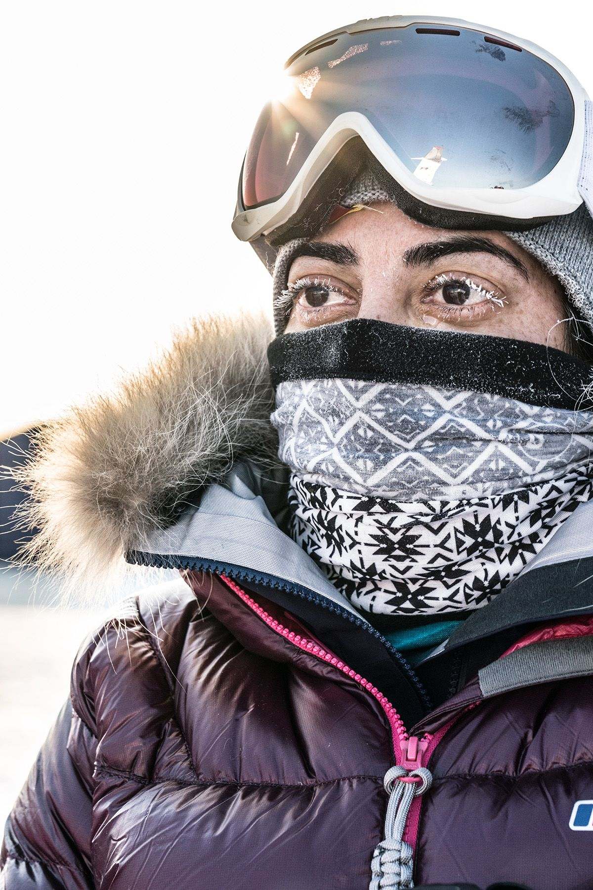 21.-A-frozen-tear-and-frozen-eye-lashes-on-Misba-Khan-before-boarding-the-helicopter-at-89-degrees-North-Photo-by-Renan-Ozturk