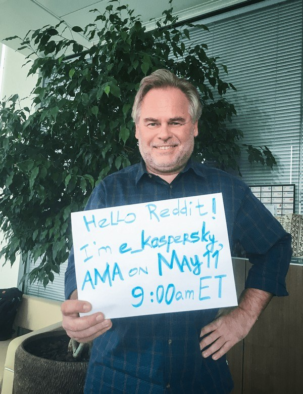 Eugene Kaspersky AMA on Reddit | Kaspersky official blog