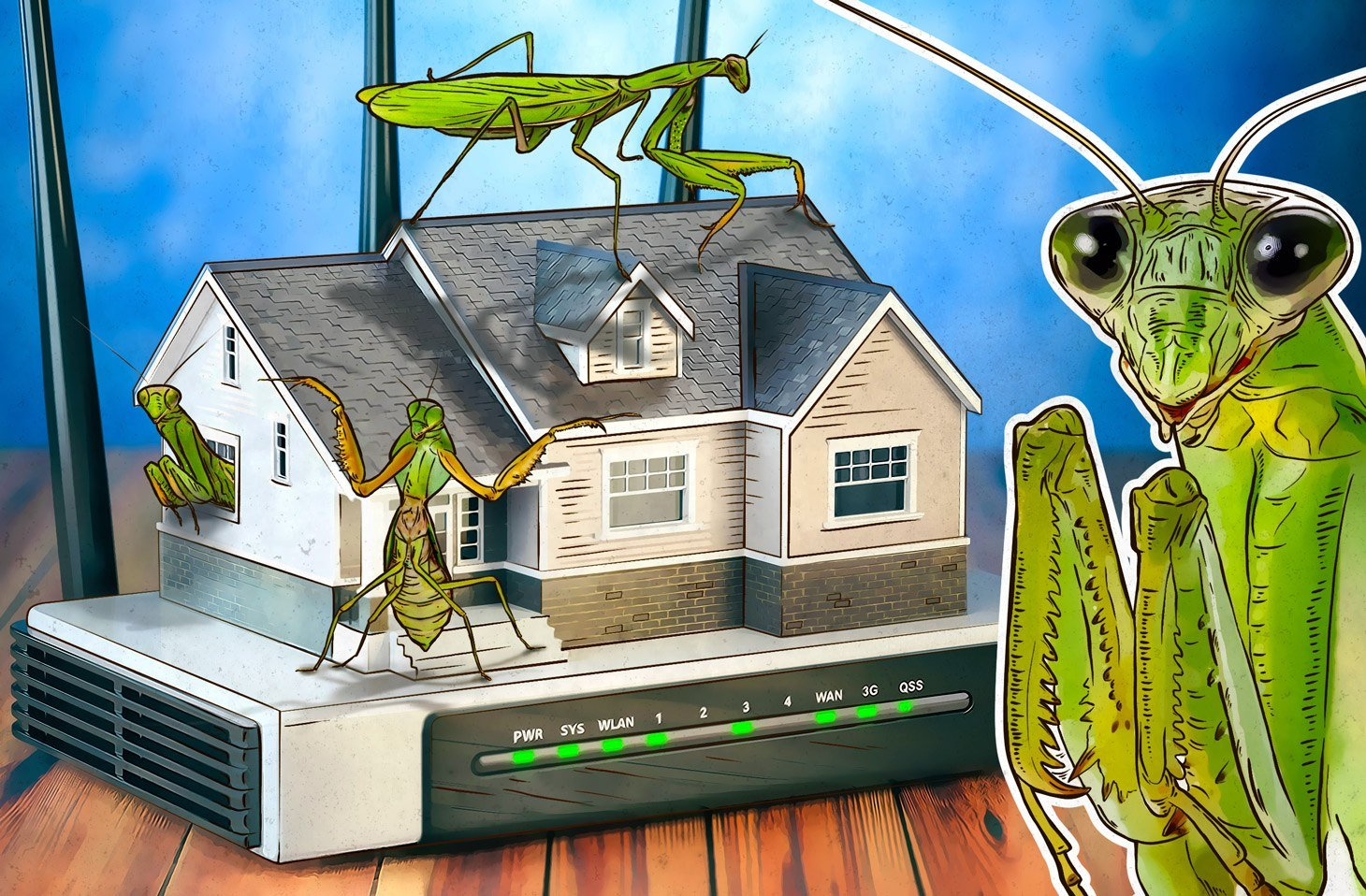 Roaming Mantis infects smartphones via wi-fi routers