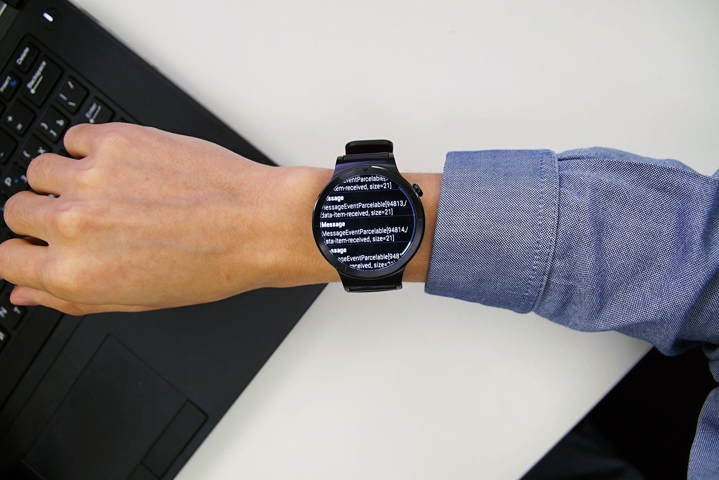 Experiment: How easy is it to spy on a smartwatch wearer