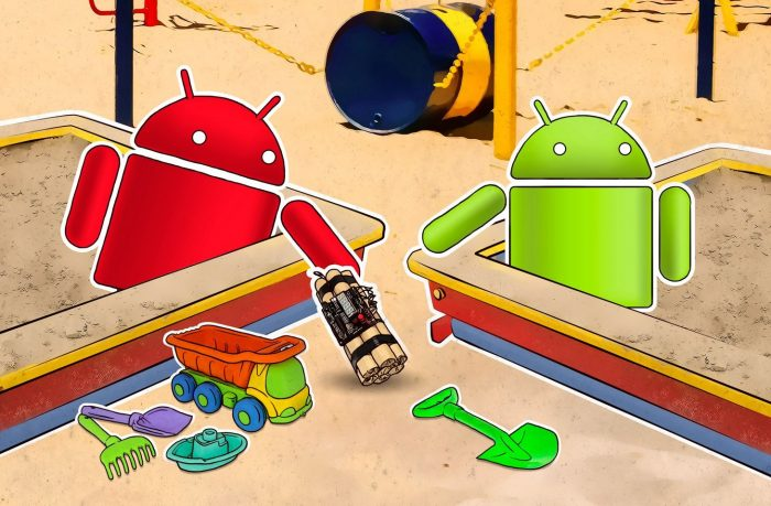 How a seemingly harmless Android application can infect your smartphone using shared external storage.