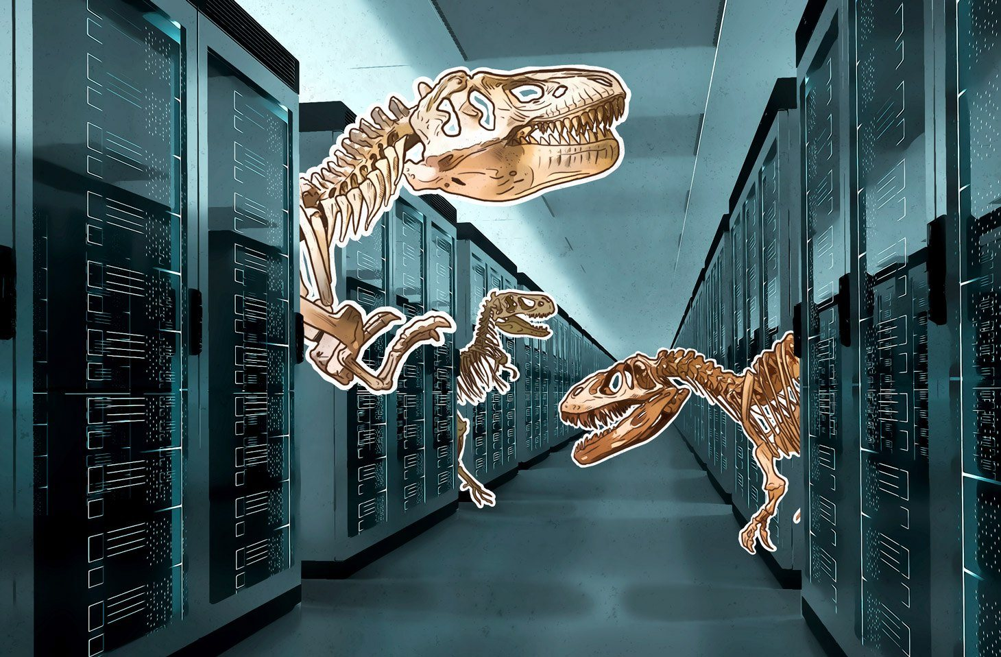 Cyber-paleontology: Kaspersky Managed Protection