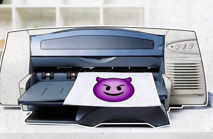 50,000 printers worldwide suddenly printed a leaflet in support of youtuber PewDiePie. How can you protect your printer from hackers?