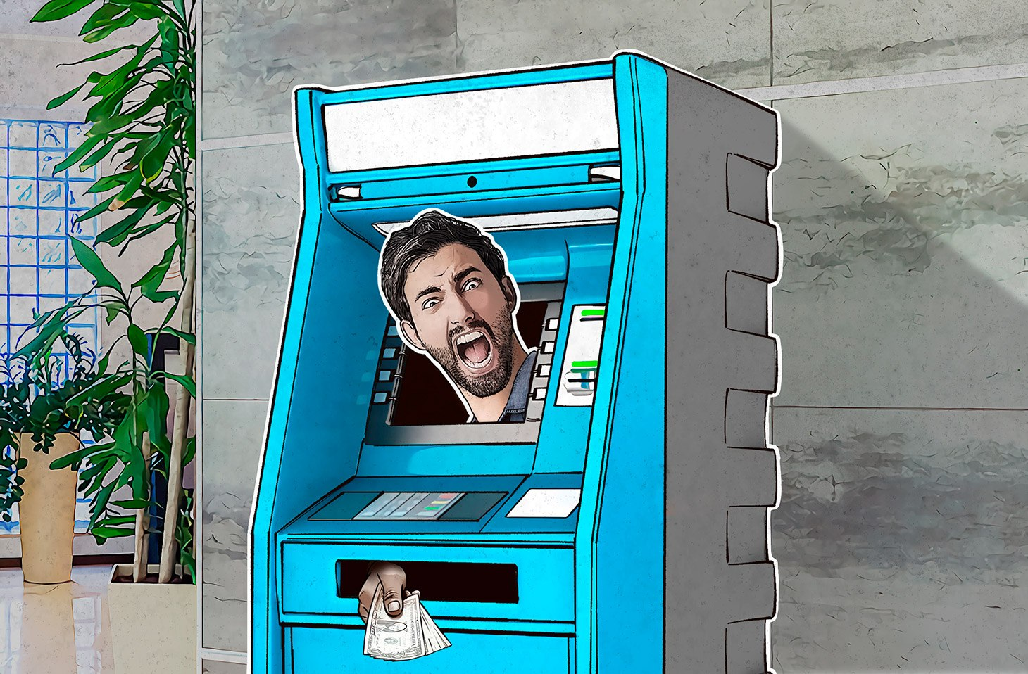 They remotely instructed ATMs to dispense cash, which mules collected.