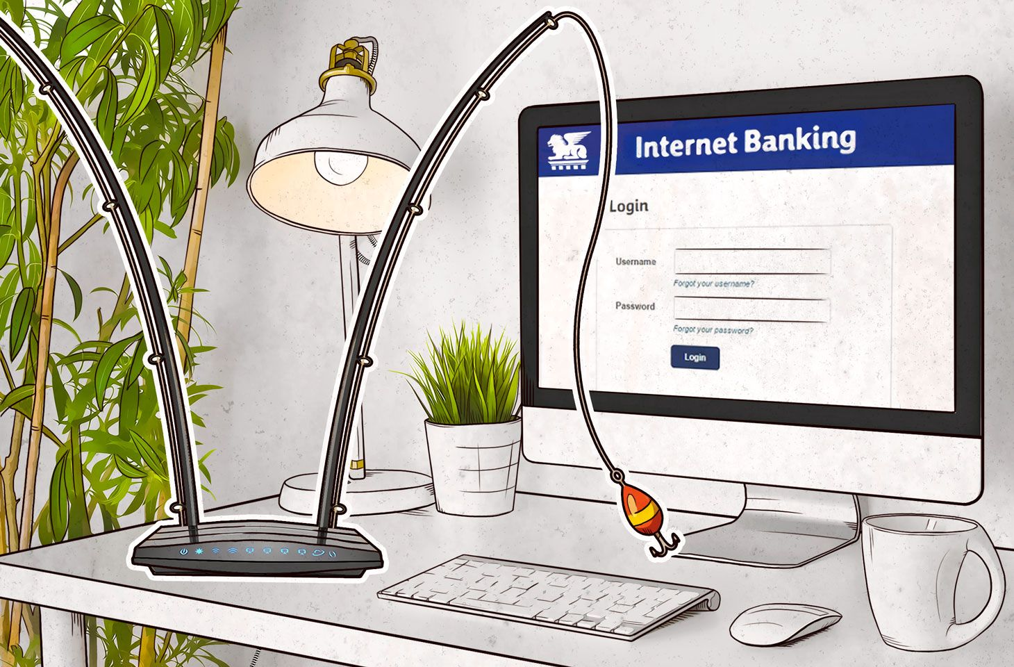 Attackers hack routers to redirect users to phishing sites