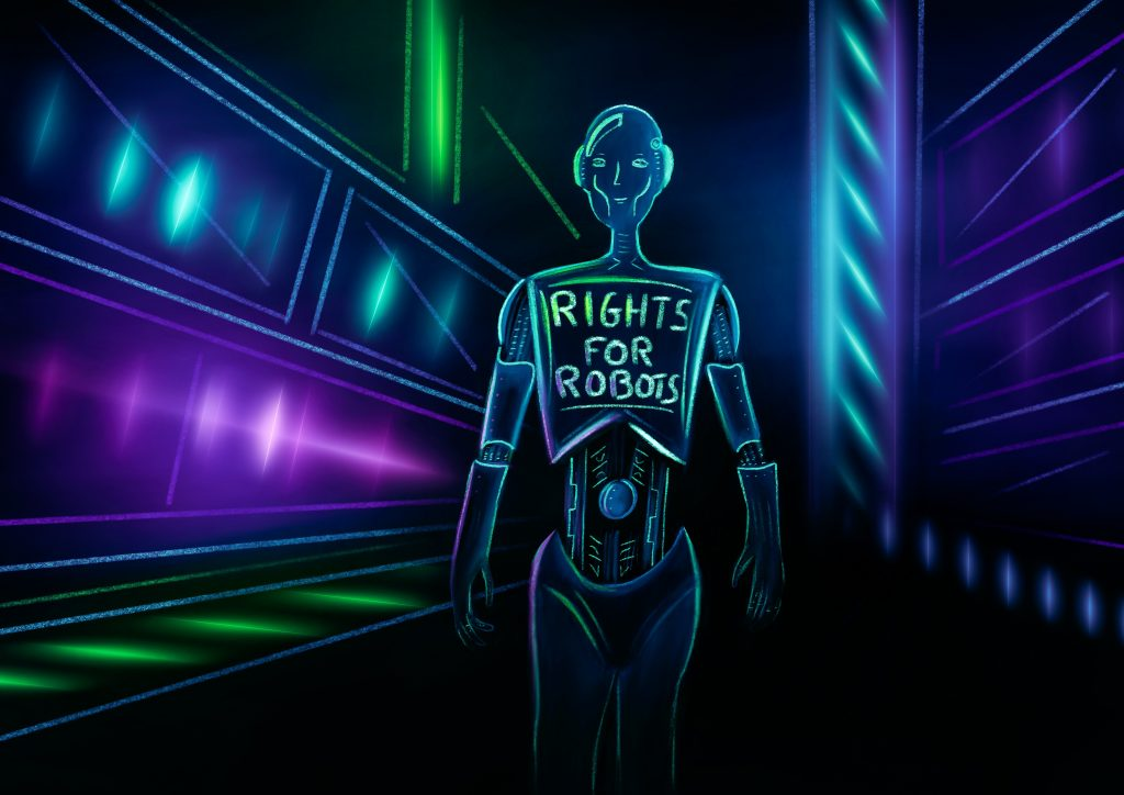 Erath 2050 Robot Protestor