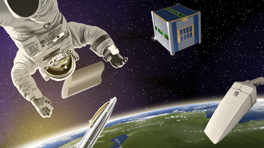 space technologies shaped business