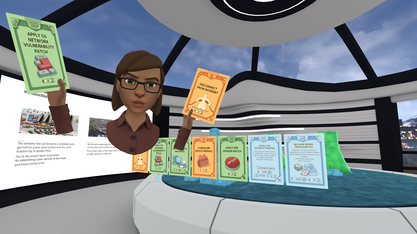 Kaspersky Interactive Protection Simulation screenshot