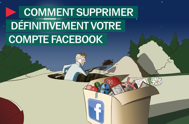 facebook_supprimer compte