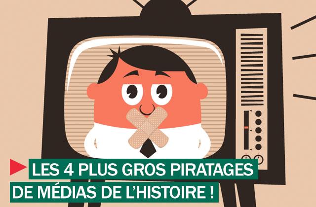 Médias piratés