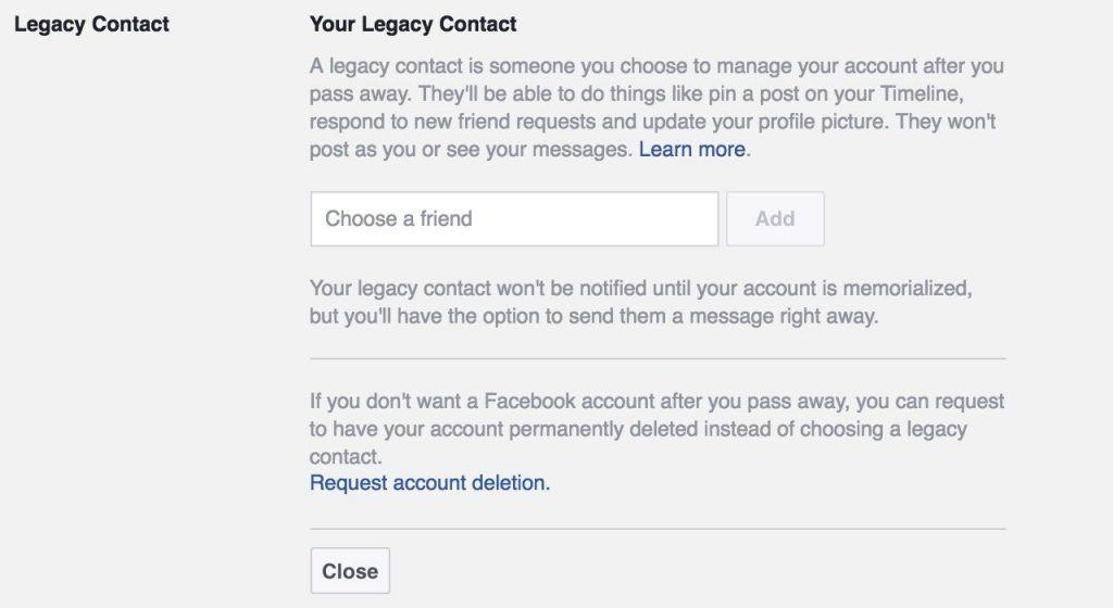 Facebook security settings guide