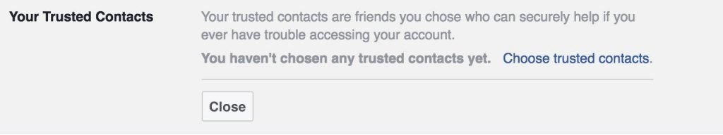 Facebook regularly changes its security settings. Take a look: A useful new setting may have appeared since the last time you checked.
