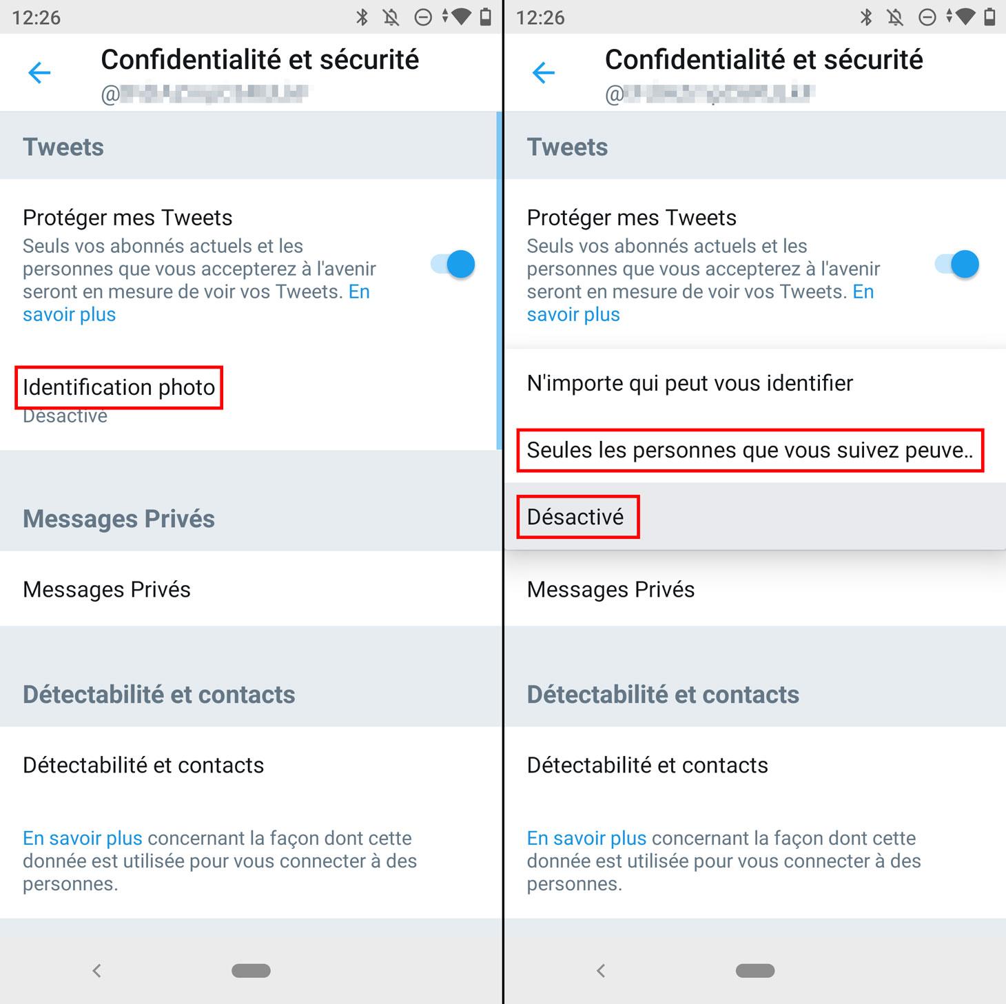 Comment désactiver l'identification sur les photos publiées sur Twitter