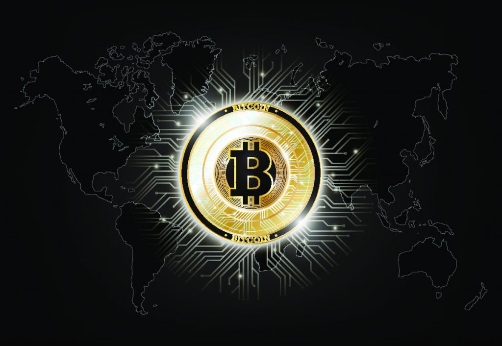 Initial coin offering that