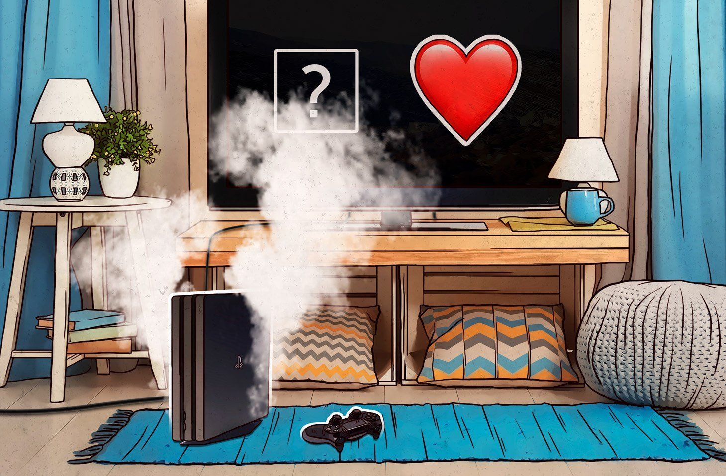 Como lidar com as mensagens assassinas no PlayStation 4