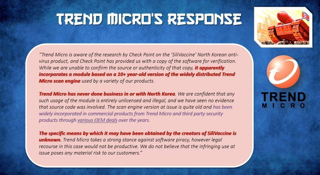 Resposta oficial da Trend Micro sugere que os norte-coreanos pegaram suas ferramentas de antivírus emprestadas