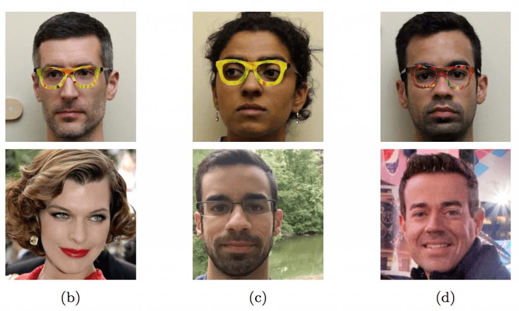 Ao usarem óculos com aros especialmente coloridos, pesquisadores fizeram um algoritmo de reconhecimento facial pensar que eram outras pessoas