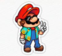 Esta imagem do Mario possui contéudo malicioso que faz download do malware