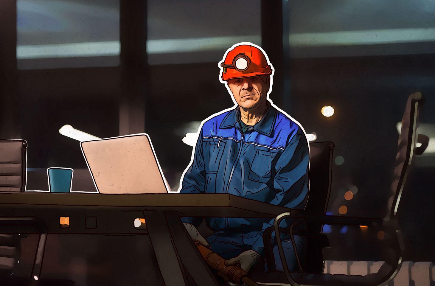 Cibercrime usa escritórios para minerar criptomoedas