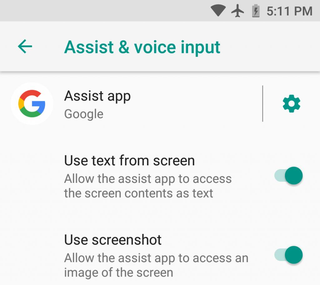 Por sinal, a assistente em seu smartphone vê o que está na tela. Você não precisa falar sobre isso, apenas deixe que ela leia