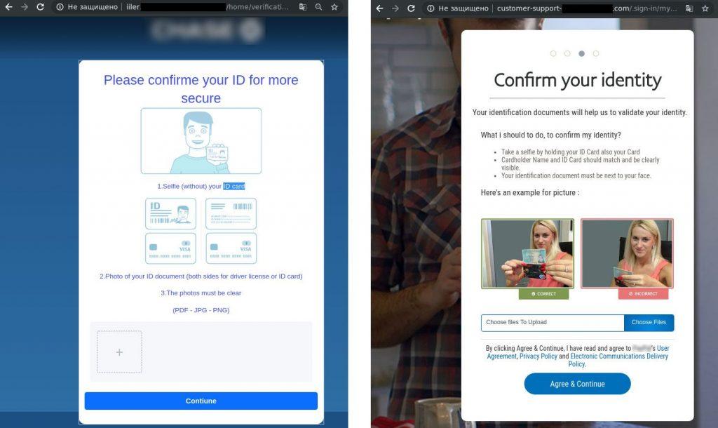 Os golpistas se passam por um sistema de pagamento ou banco e pedem o envio de uma selfie segurando seu documento de identidade