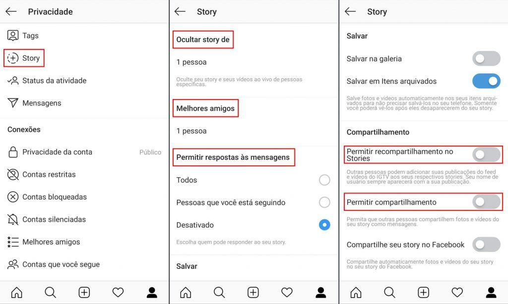 Como configurar quem pode ver seus stories do Instagram