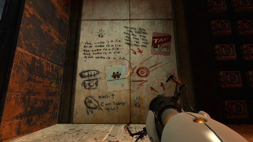 Portal 2: The Cake is a lie