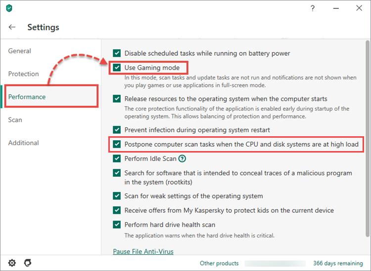 Como melhorar a performance do computador com o Kaspersky Internet Security no modo de jogo