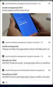 Imagem de um dos apps falsos com diversas notificações ao usuário
