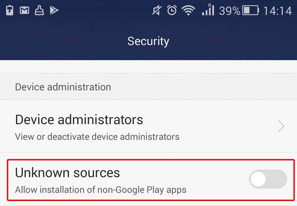 Como desativar a instalação de aplicativos de fontes desconhecidas no Android 6 e 7