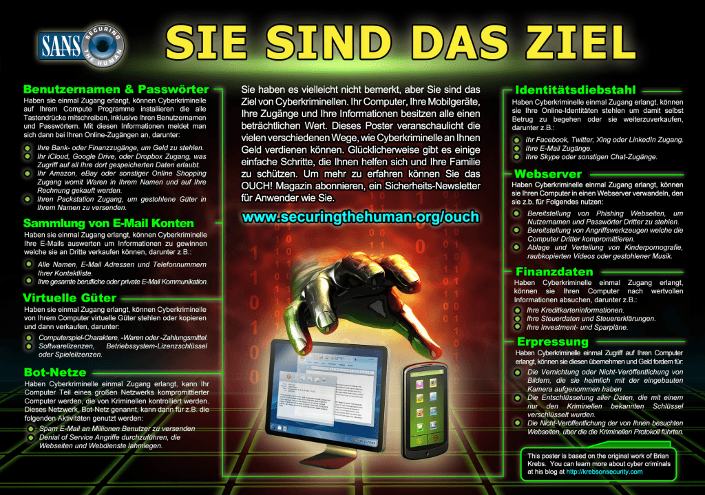 STH-Poster-YouAreATarget-LowResolution-German