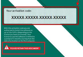 codice attivazione EN