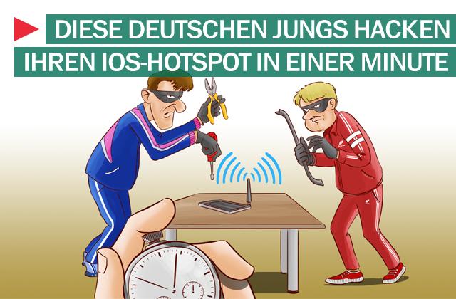 iOS-Hotspot