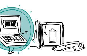 Optimaler Schutz für akkubetriebene Laptops