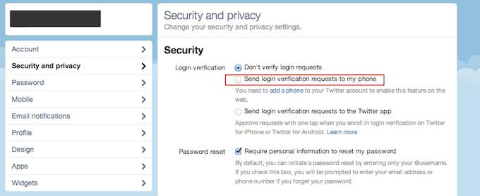 Twitter Sicherheit