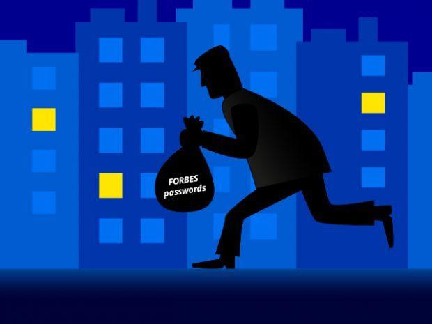 Passwortdiebstahl bei Forbes