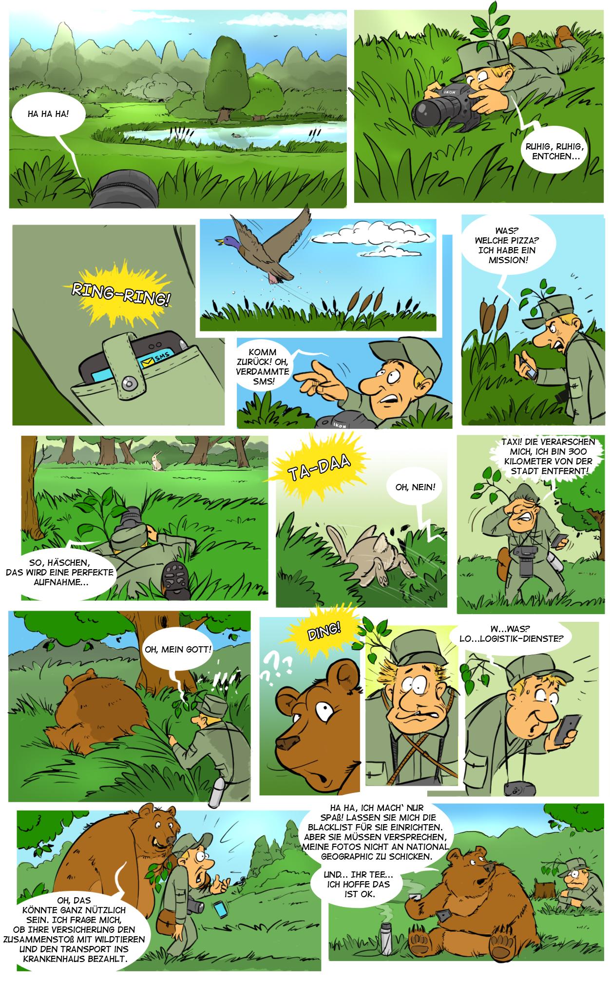 Comic Sms Spam