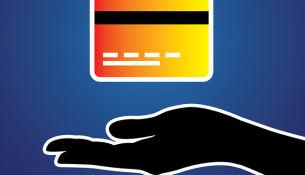 Kreditkarte sichern