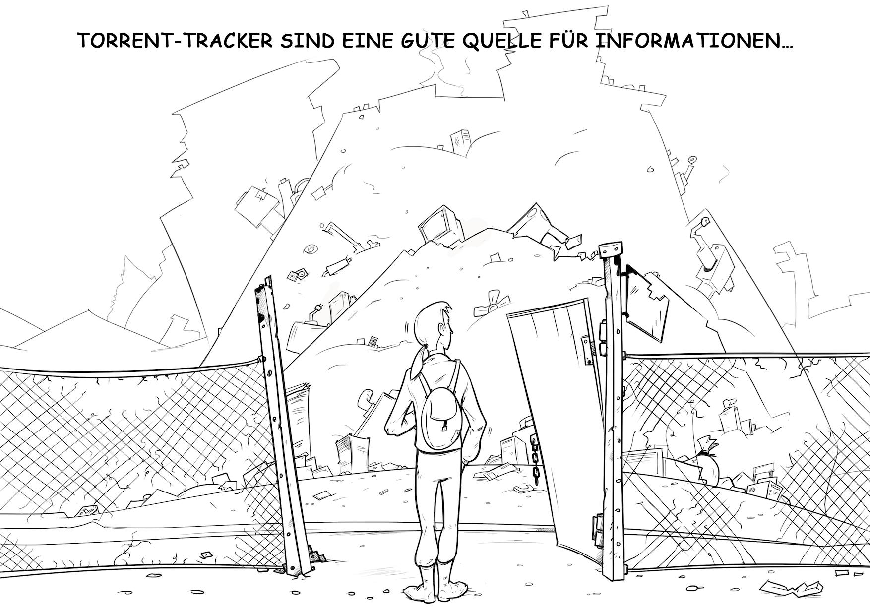 Torrent tracker 1