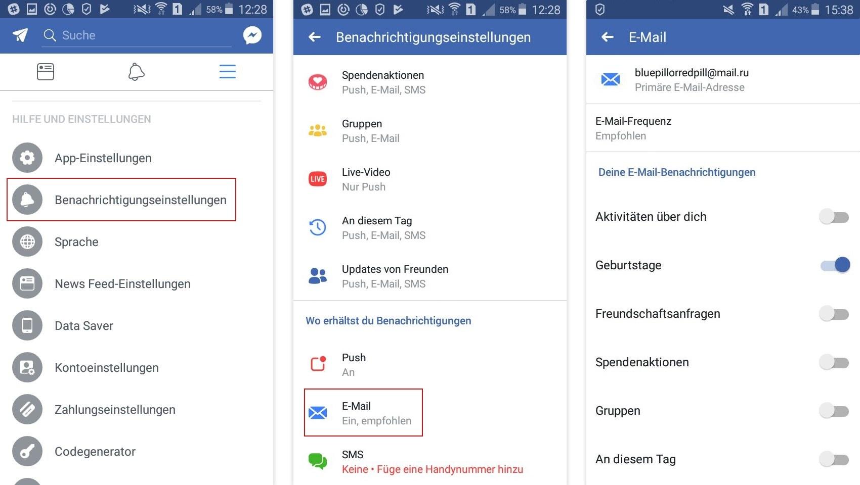 Facebook Benachrichtigungen Richtig Anpassen Offizieller Blog Von
